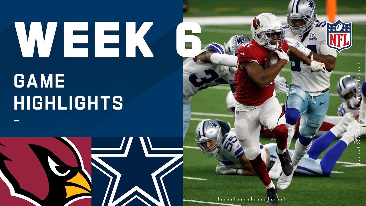 Arizona Cardinals Vs Dallas Cowboys Box Score October 19 2020 Fox Sports