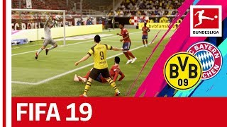 Borussia Dortmund vs. Bayern München - FIFA 19 Prediction With EA Sports