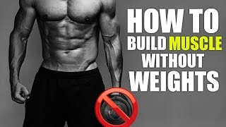 How To Build Muscle Without A Gym