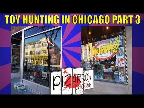 Toy Hunting & finds in Chicago Part 3 - Quake & KaPow Collectables