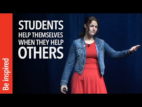 Students Help Themselves When They Help Others