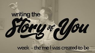 Writing the Story of You: the me I am created to be | October  11, 2020 | livestream sermon