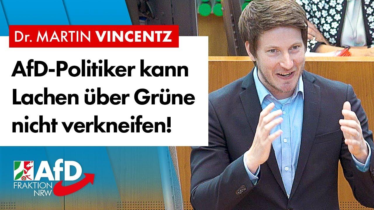 AfD-Politiker kann sich das Lachen über die Grünen nicht verkneifen! – Martin Vincentz (AfD)