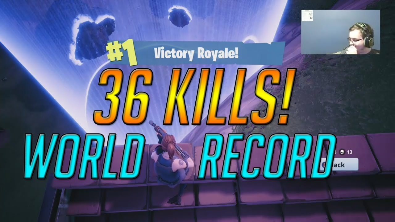 36 KILL SQUAD WIN - (OLD) World Record - The Craziest Game ...