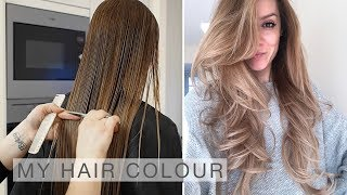 My Hair Colour, Cut & Blow Dry Routine   Shonagh Scott   ShowMe MakeUp