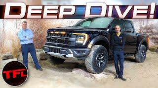 I Take A Deep Dive Into The New Ford F-150 Raptor With One Of The Guys Who Built It!