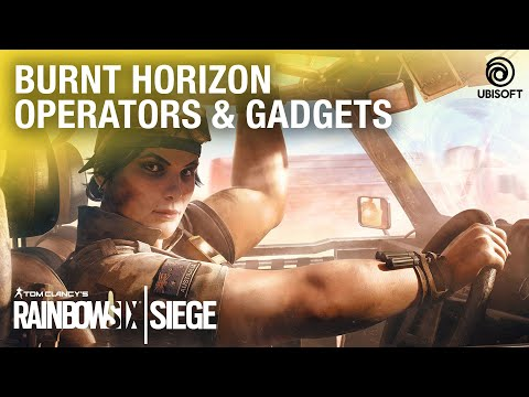 Rainbow Six Siege: Burnt Horizon Operators Gameplay and Gadget Starter Tips | Ubisoft [NA]