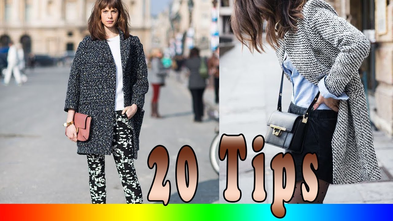 1b7bc02d619 20 Style Tips On How To Wear Sweater Coats - YouTube