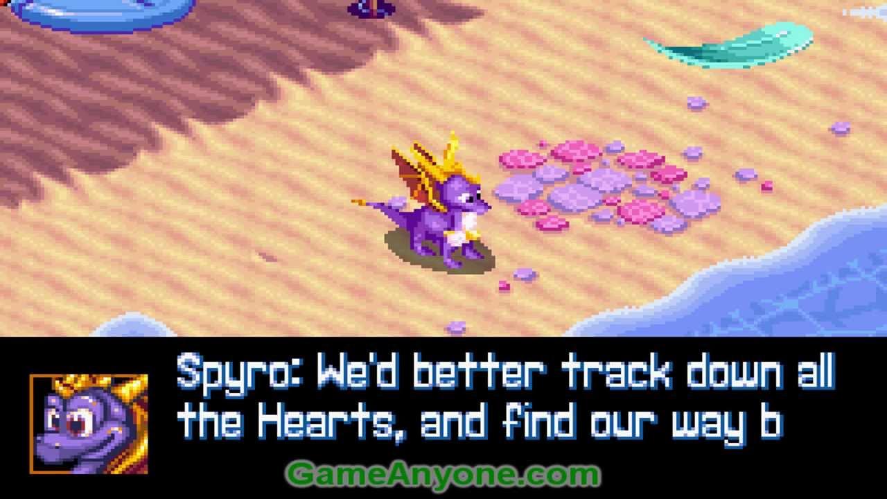 gameboy advance spyro