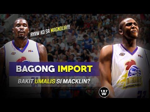 Bagong Import ng Magnolia   Bakit ba UMALIS si Macklin?
