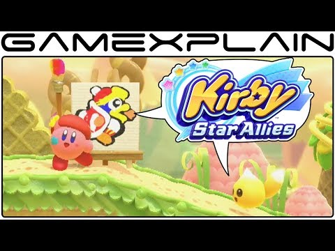 Download Youtube: Kirby: Star Allies - Nintendo Direct Mini Gameplay DISCUSSION
