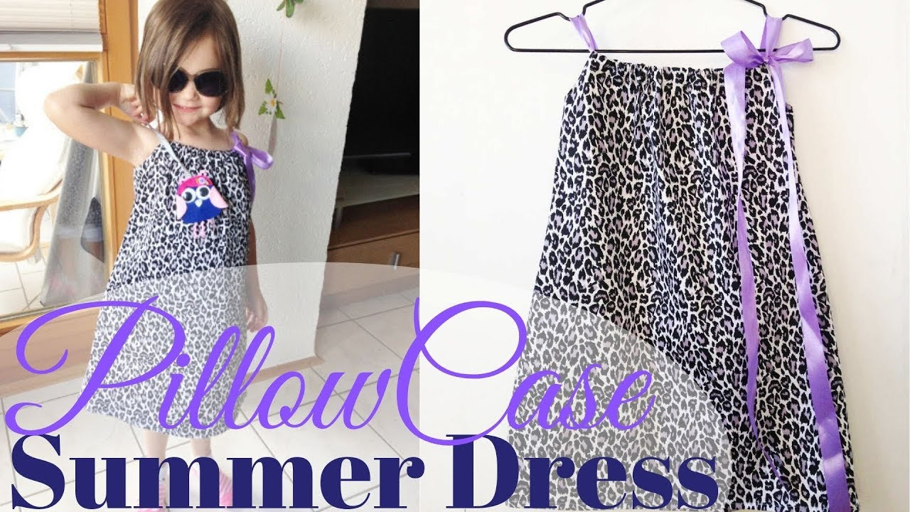 How to Sew a Pillowcase Dress & Making the Pattern for Beginners