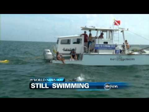 WEBCAST: Still Swimming From Cuba to Florida Keys
