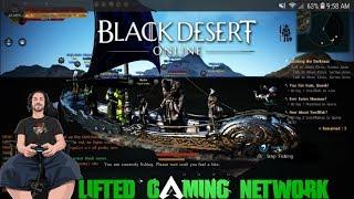 Black Desert Online PS4 PRO Come Hang out! Node War Today