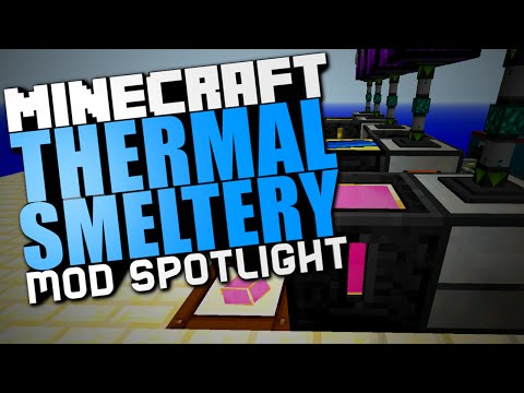 1 7 10] Thermal Smeltery Mod Download | Planeta Minecraft