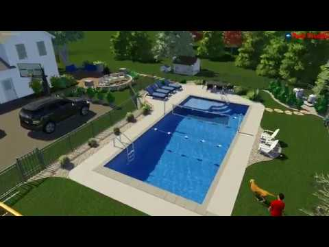 Mequon, WI -Inground Pool Concept Video