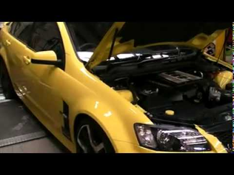 HSV GTS E3 Dyno (520rwhp) with Walkinshaw WP230 SuperCharger, headers and  3