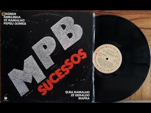 MPB Sucessos - Coletânea Nacional - Vinil Completo - 1983 - Baú al