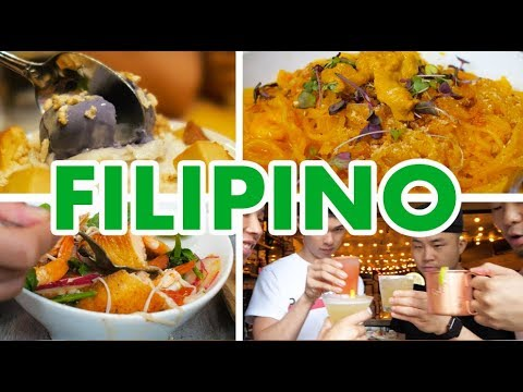 FILIPINO FOOD CRAWL IN NYC (Traditional VS Fusion) // Fung Bros