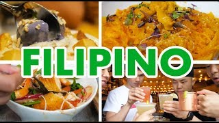 FILIPINO FOOD CRAWL IN NYC (Traditional VS Fusion) // Fung Bros