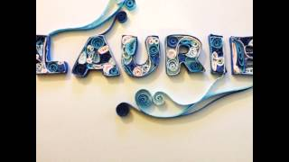 Quilling Names