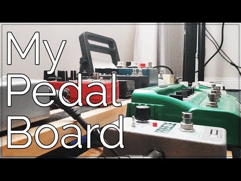 My Pedal Board Rig [For Post-Metal, Ambient Music and Looping)
