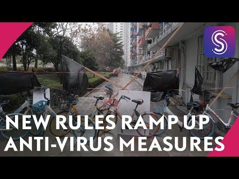 Shanghai Coronavirus Vlog: Strict New Residential Rules Ramp Up Anti-virus Measures