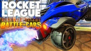 Revenge Of The Battle Cars - Rocket League New Cars & Maps - (rocket League Dlc)