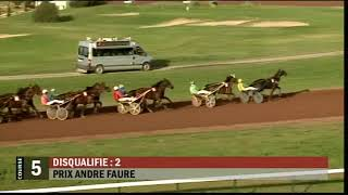 Vidéo de la course PMU PRIX ANDRE FAURE
