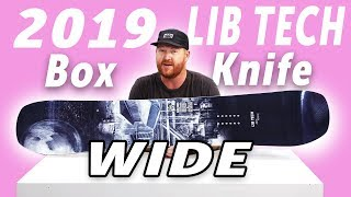Gambar cover 2019 Lib Tech Box Knife Wide Snowboard Review