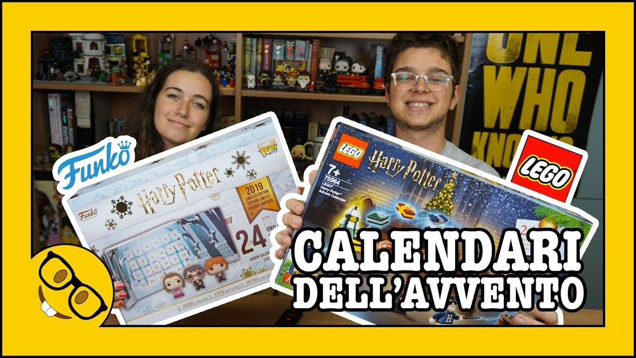 Calendario Dellavvento Harry Potter Funko.Calendario Dell Avvento Harry Potter Lego Vs Funko Unboxing Giveaway