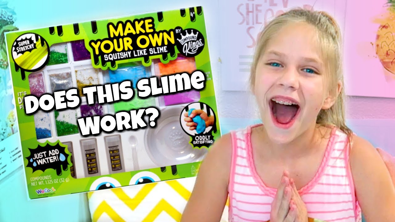 Squishy Making Kit : Testing SQUISHY LIKE SLIME Make Your Own DIY Slime at Michaels Shopping for Slime Kits Does it ...