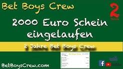 Der Wahnsinn: 2000 Euro Gewinn beim Africa Cup - 2 Jahre Bet Boys Crew