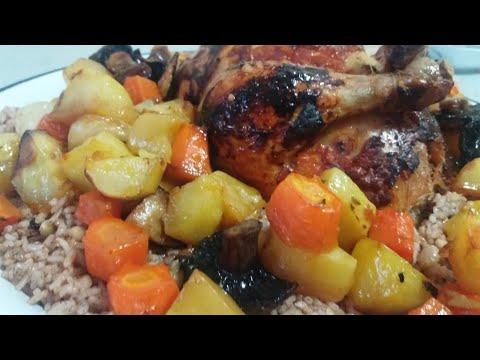 İç Pilavlı Tavuk Dolma | Özel Sosu İle Fırında İç Pilavlı Tavuk