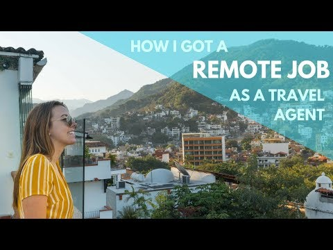 HOW I GOT A REMOTE JOB AS A TRAVEL AGENT