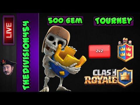 Clash Royale #120 | 500 Gem Tournament |