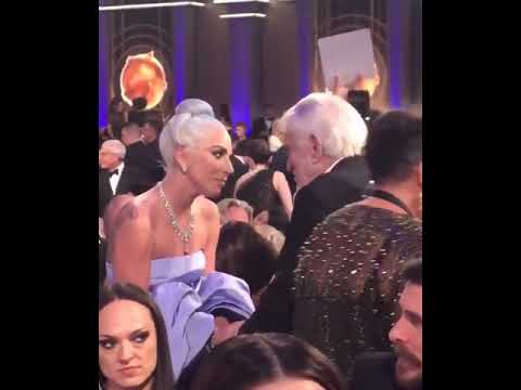 Dick Van Dyke meets Bradley Cooper and Lady Gaga @Golden Globes 2019