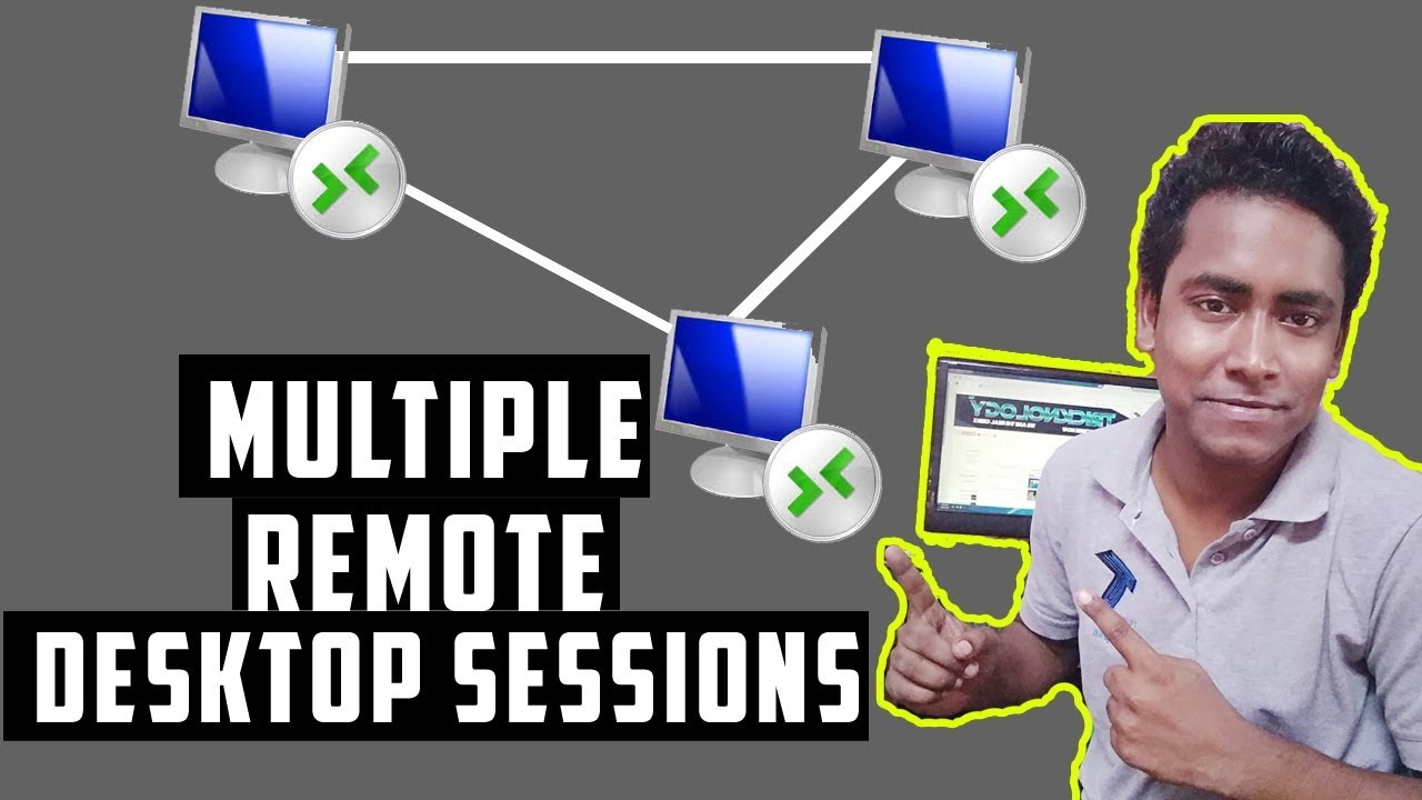 How To Enable Multiple Remote Desktop session(RDP) on windows 7