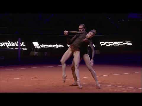 """Stuttgart Ballet in """"Arcadia"""" Choreography by Douglas Lee - Porsche Tennis Grand Prix 2018"""