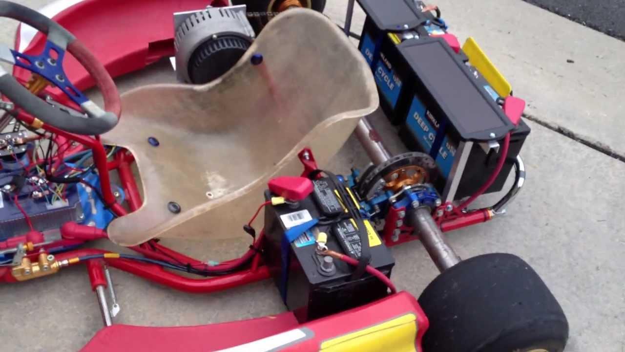 2008 Birel R31 Electric Powered Go Kart   YouTube
