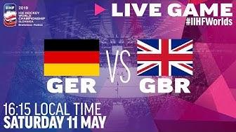 Germany vs. Great Britain   Full Game   2019 IIHF Ice Hockey World Championship