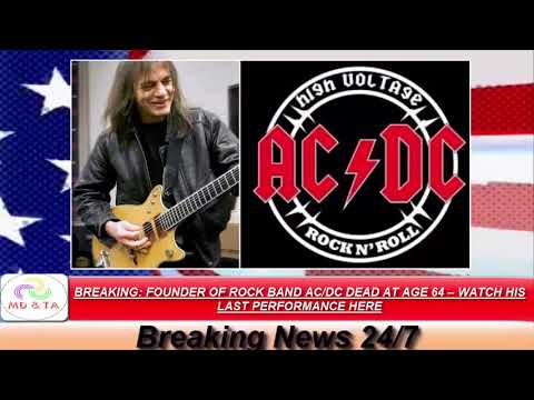 angus young - rip malcolm young : watch...