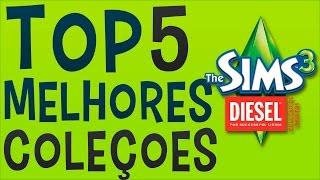 Top 5 MELHORES Coleções de Objetos do THE SIMS 3
