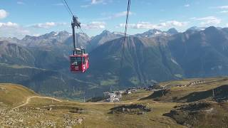 Fiesch - Aletsch - Eggishorn 2019 - summer in Switzerland - cable way