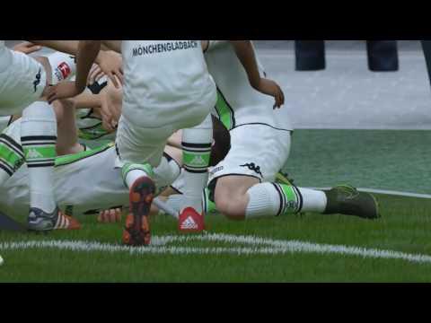 FIFA 16 Borussia Mönchengladbach vs. FC Bayern München @ Borussia Park