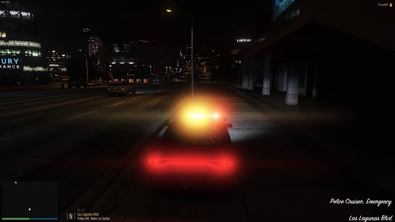 FiveM - Controlling lights on ELS model via client script - Test 2