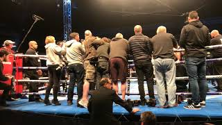 CROWD REACTION: TO WARRINGTON BECOMING NEW IBF CHAMPION
