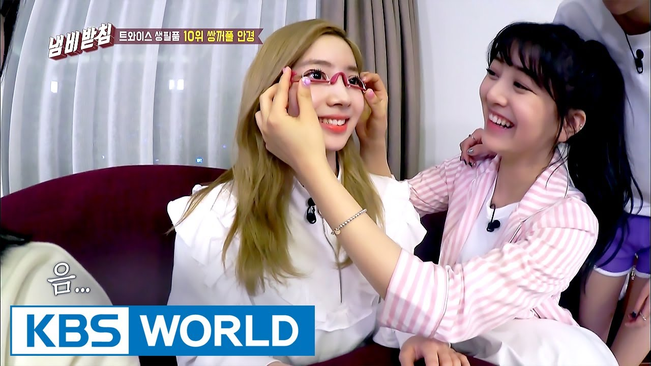 TWICE trying out unique products – Dahyeon got double eyelids? [We Like  Zines! / 2017 06 27]
