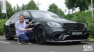 The Brabus 800 S63 AMG is a Luxury Powerhouse!