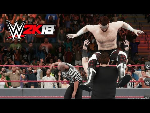 WWE 2K18 - Kevin Owens POP UP POWERBOMB Compilation!
